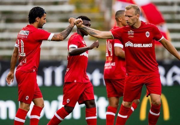 ژوپیلر لیگ بلژیک، پیروزی آنتورپ برابر تیم قعرنشین، خطای پنالتی بیرانوند